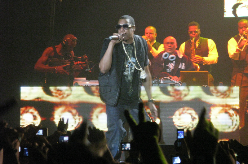 Rapper Jay-Z, the founder of Roc Nation