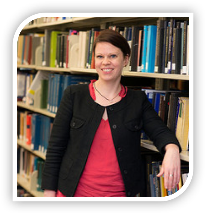 Elise Ferer, librarian for undergraduate learning.