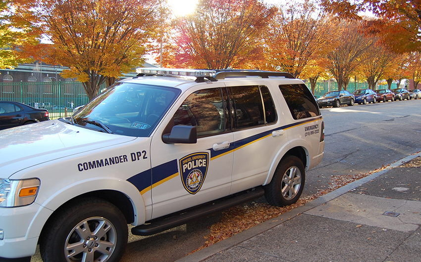 Image of Drexel Police SUV
