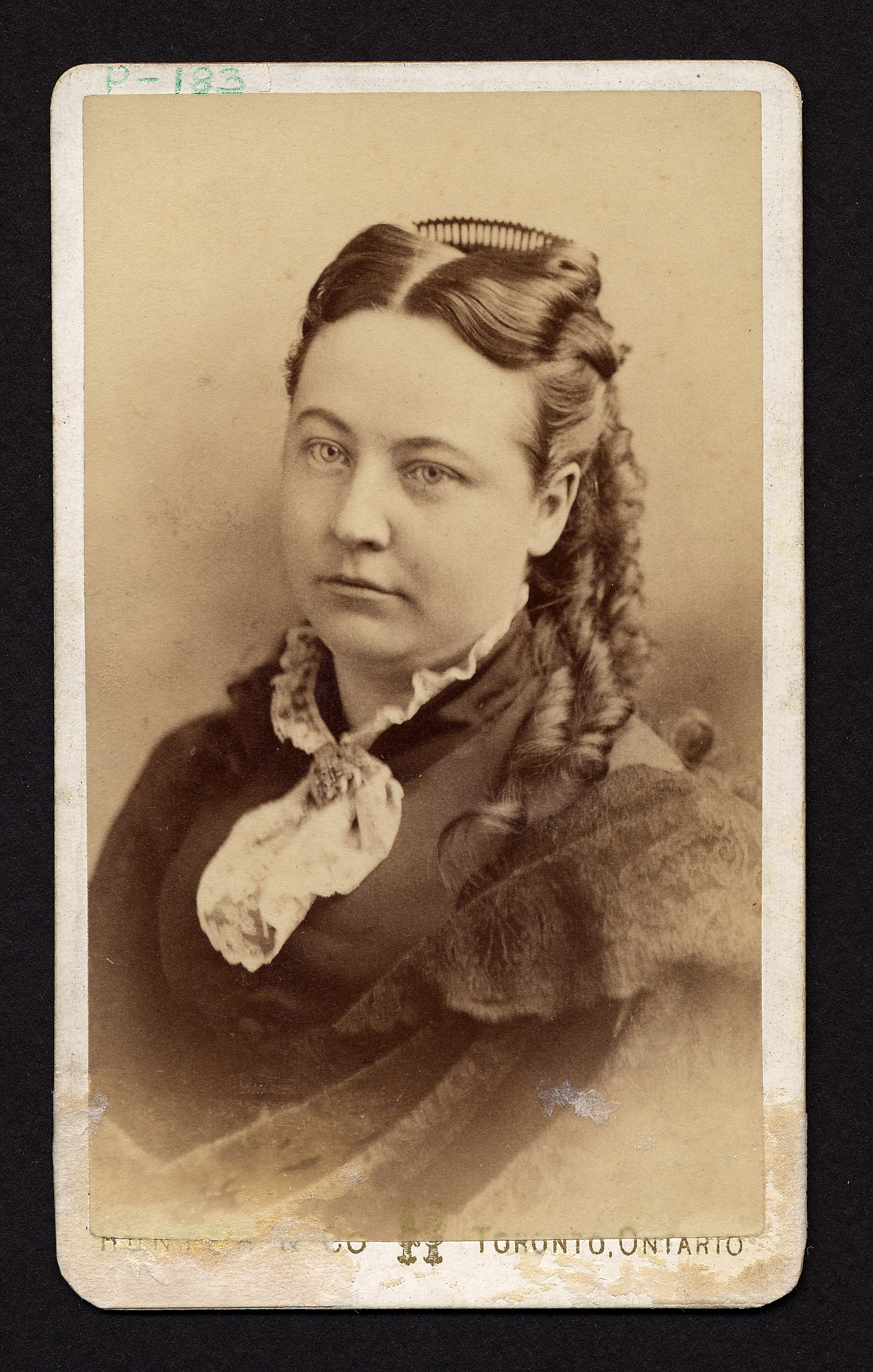Portrait of Jennie Kidd Trout, who graduated from the Woman's Medical College of Pennsylvania in 1875. Photo courtesy Legacy Center Archives, Drexel College of Medicine.