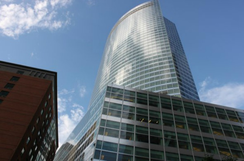 Goldman Sachs' New York headquarters.
