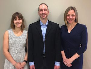 Adrienne Juarascio, PhD, Evan Forman, PhD, and Meghan Butryn, PhD, all psychologists in the College of Arts and Sciences, will lead the WELL Center.