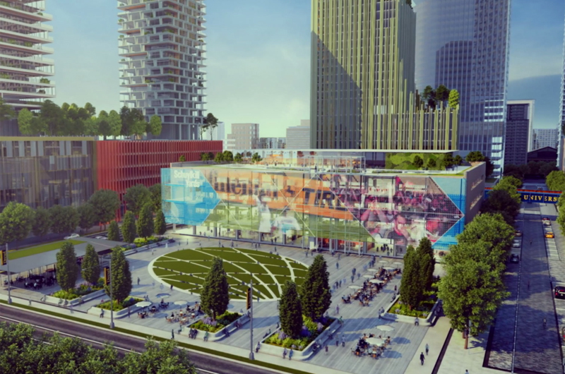 rendering of Drexel Square