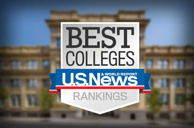 Drexel University ranked in U.S. News & World Report's 2018 rankings for best colleges.