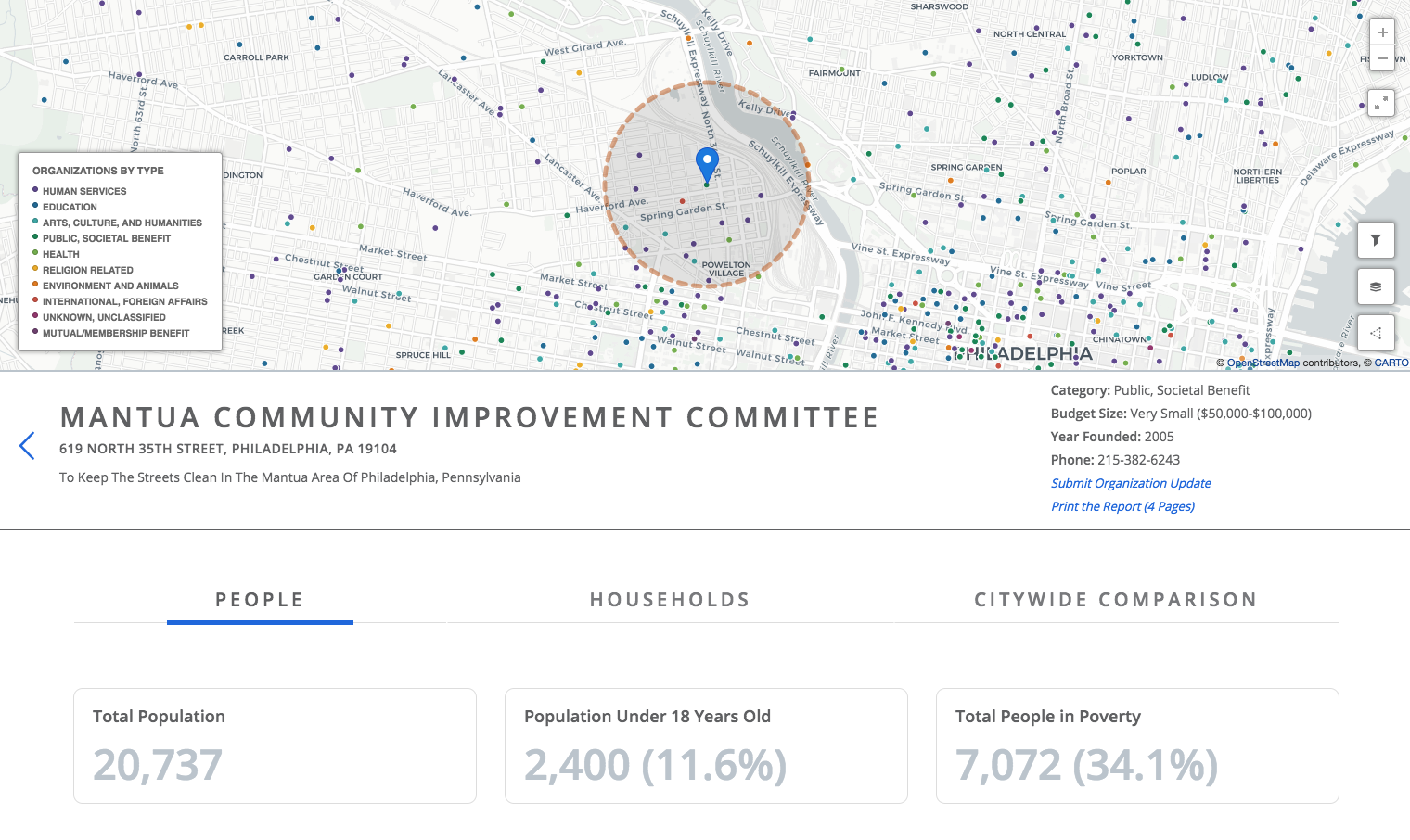 ImpactView Philadelphia locator