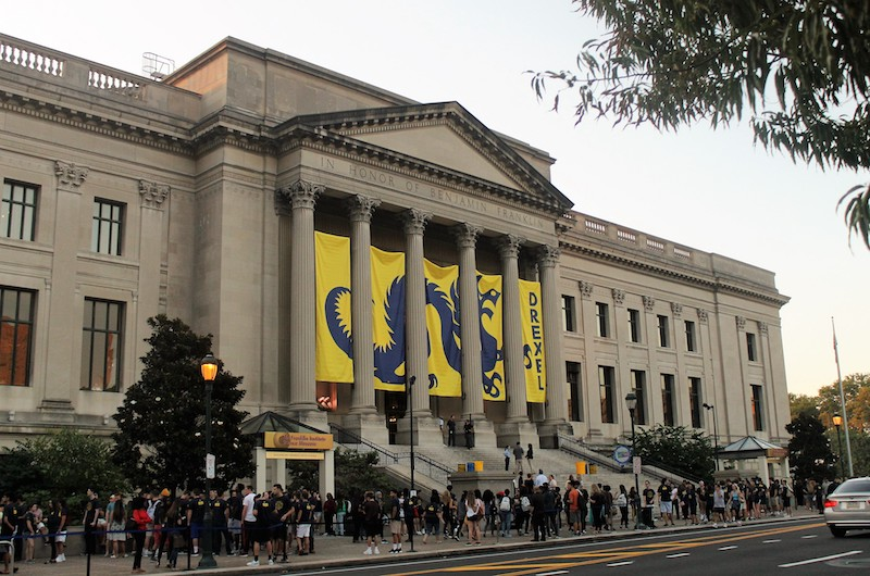 During the 2017 Welcome Week, Drexel's incoming class visited the Franklin Institute as part of the University's new student orientation experience.