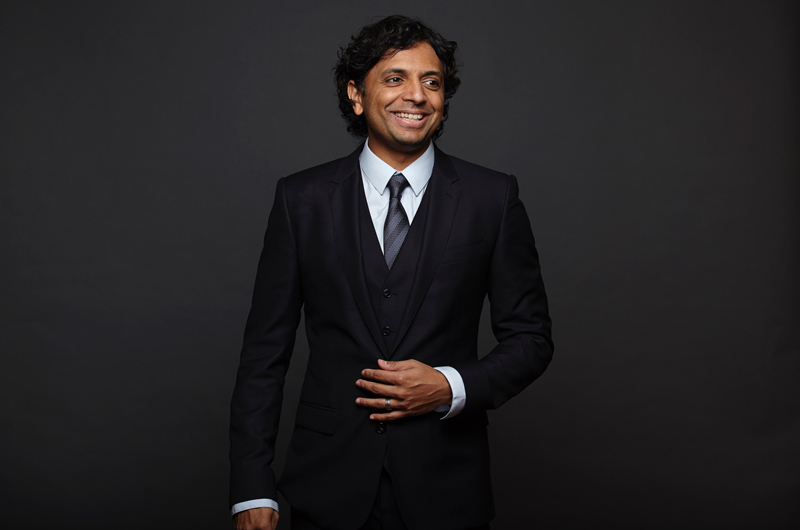 Headshot of Shyamalan