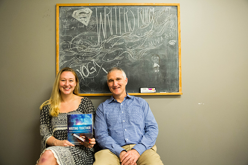 Scott Warnock and Diana Gasiewski authored the book together.