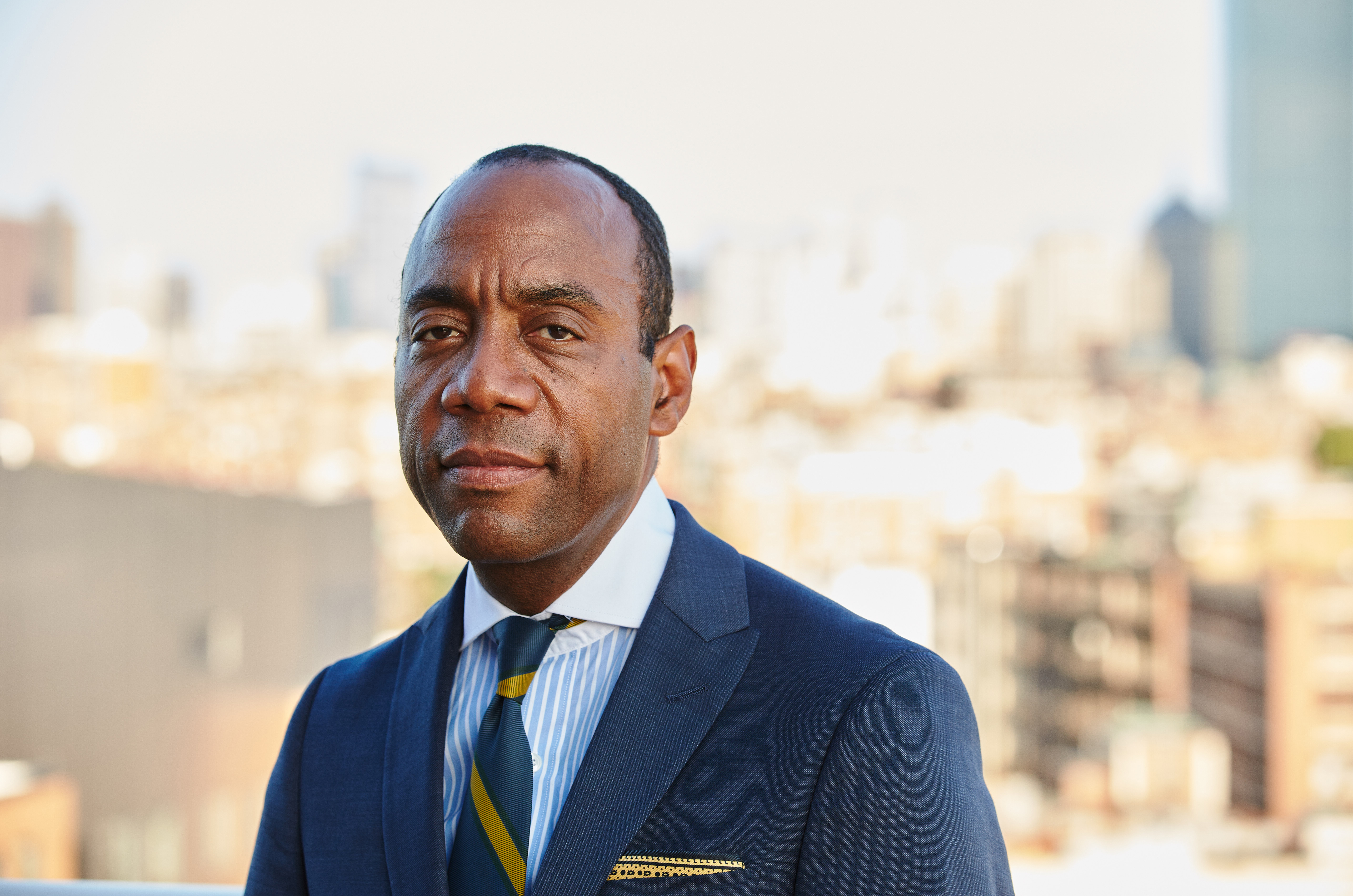 Portrait photo of Cornell Brooks