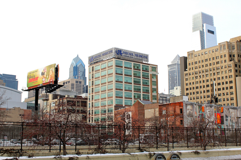 Philadelphia and Drexel Medicine skyline