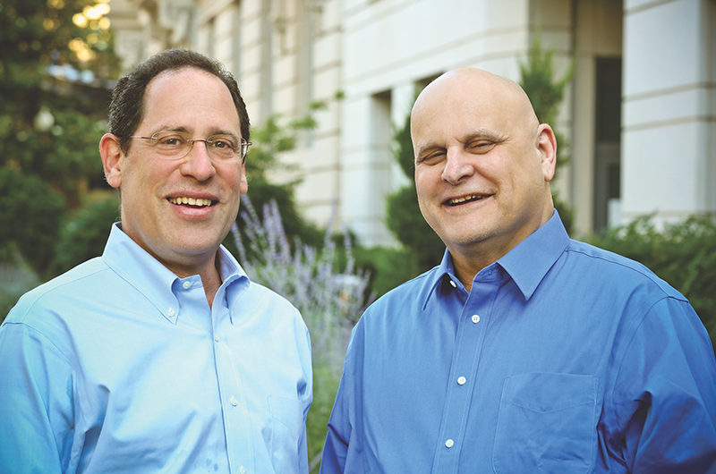 Bruce Katz, left, and Jeremy Nowak.