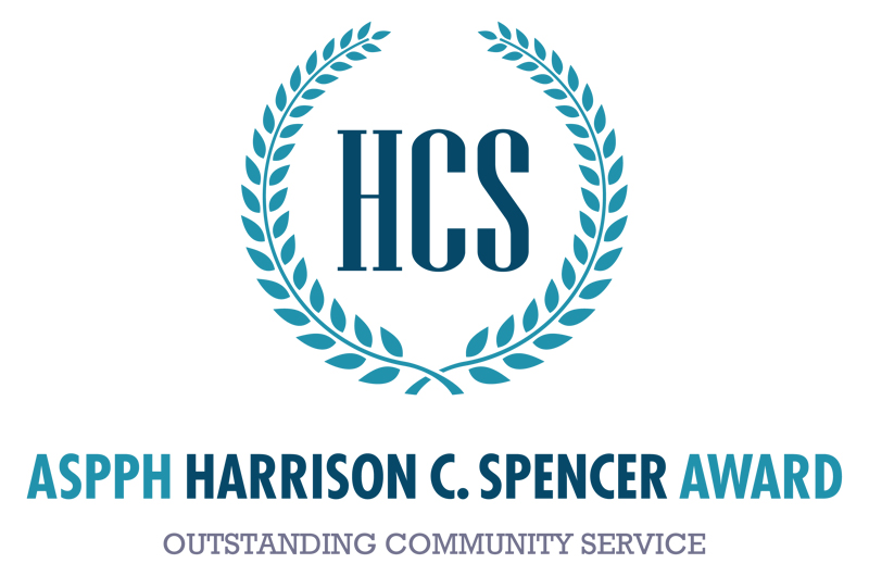 Logo for the ASPPH Harrison C. Spencer Award