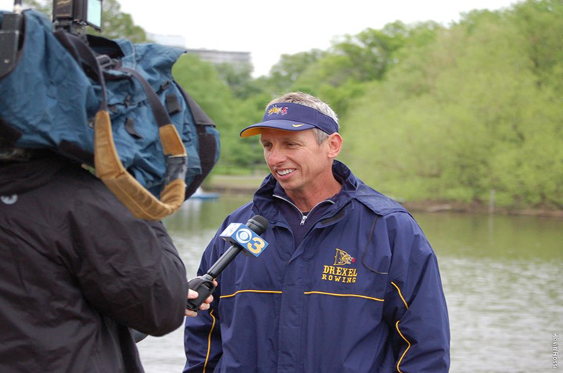 Drexel Director of Rowing Paul Savell.