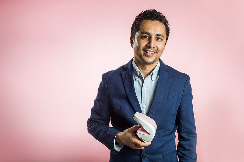 Mihir Shah '00 founded UE Lifesciences to develop the iBreastExam using research and support from Drexel professors and the Coulter-Drexel Translational Research Partnership Program.