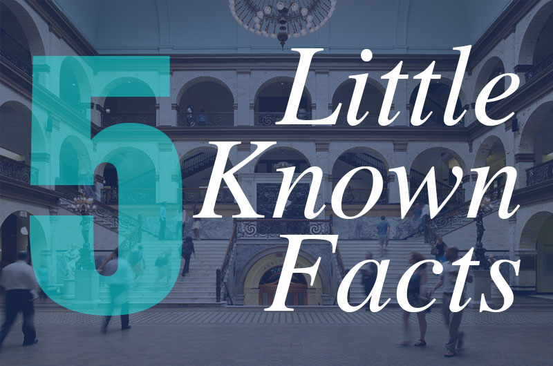 Five Little-Known Facts Office of Alumni Relations
