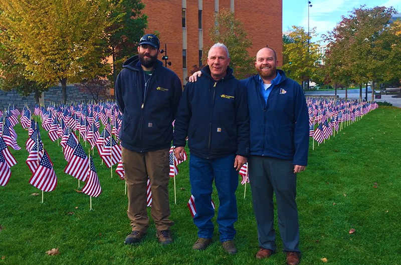 Drexel Honors 872 Student Veterans With Annual Flag Display – DrexelNow