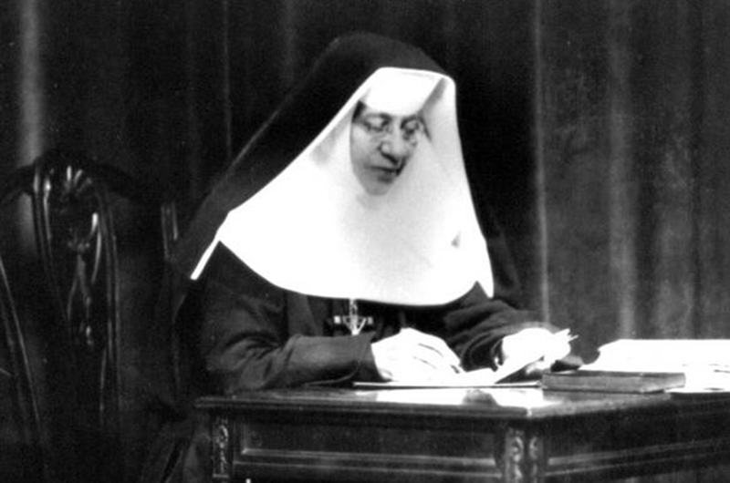 Saint Katharine Drexel, photographed ca. 1910-1920. Photo credit: Wikimedia Commons.
