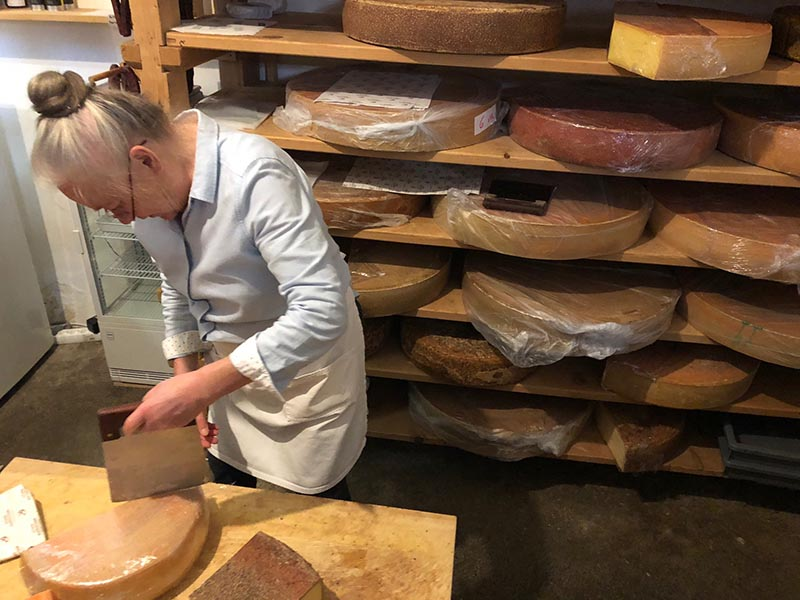 The Dornbirn area is famous for its cheese and dairy products, and we went to the source to sample and purchase local cheese.