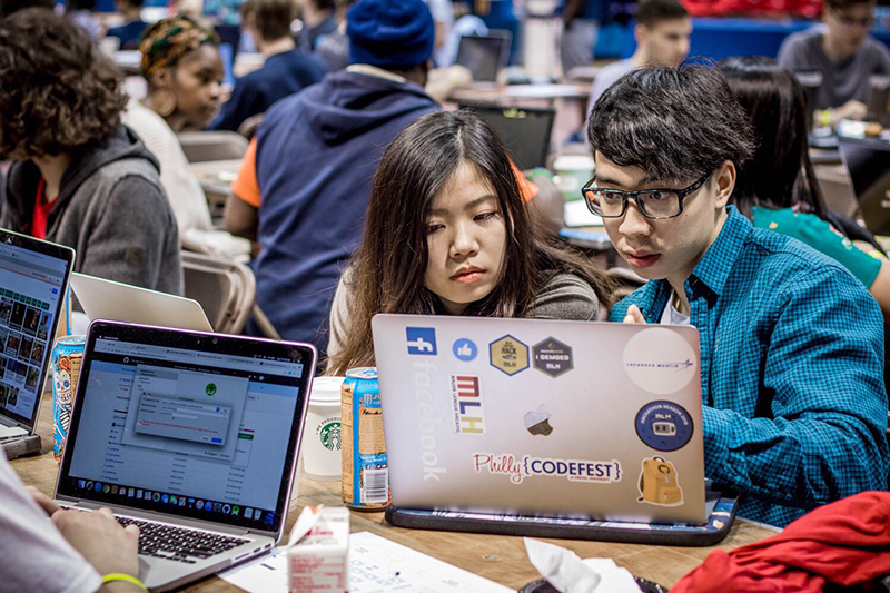 Since 2013, Drexel University's College of Computing & Informatics has brought students and local professionals from diverse backgrounds together for a premiere hackathon focused on solving real-world problems.