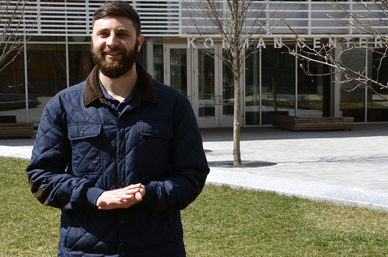 Integrated biomedical engineering and business graduate student Adam Eichen had been looking for a job for years before coming to Drexel, and found that the graduate co-op program helped open industry doors that were once closed to him.