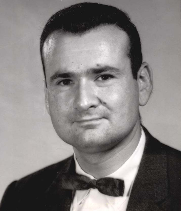 A portrait of Leonard D. Cohen, PhD, in 1964, when he started working at the then-Drexel Institute of Technology. Photo courtesy Drexel University Archives.