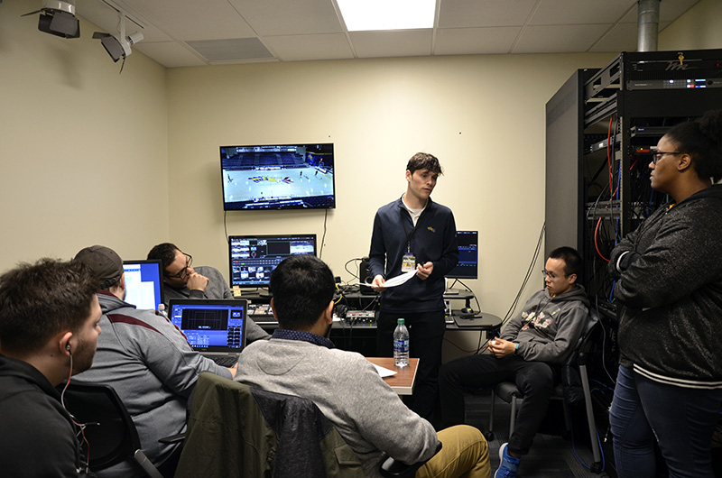 The students who run Dragons TV are acutely aware of the highs, the lows and what it takes to move from internet streams to a regional NBC Sports TV deal.