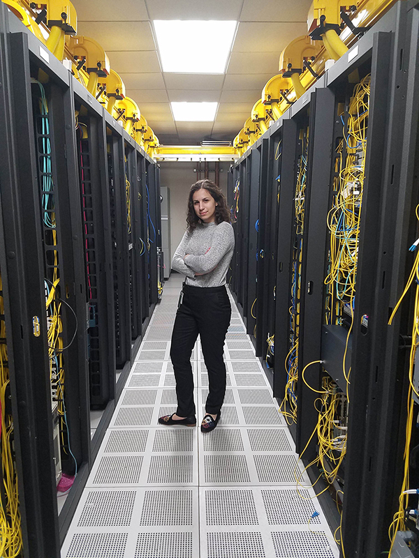 """Data Center Chic"" — Antigone Bellanich (Information Systems) Second place: @Work Category"