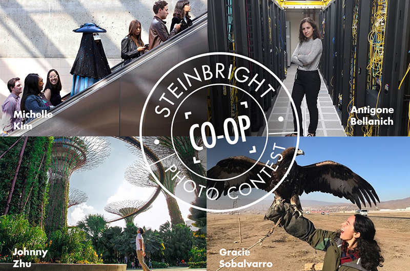 Every year, the Steinbright Career Development Center hosts the contest, with students on co-op over the last year submitting photos in both the @work and @play categories.