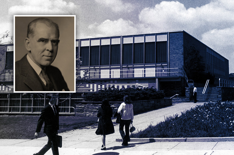 Today's Creese Student Center is named for former Drexel Institute of Technology PToday's Creese Student Center is named for former Drexel Institute of Technology President James Creese.resident James Creese.