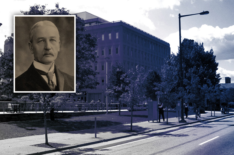 Drexel's first president, James A. MacAlister, is the namesake behind MacAlister Hall.