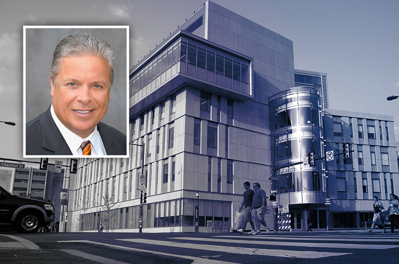 The Constantine N. Papadakis Integrated Sciences Building, also called PISB, is named for former Drexel President Constantine Papadakis.