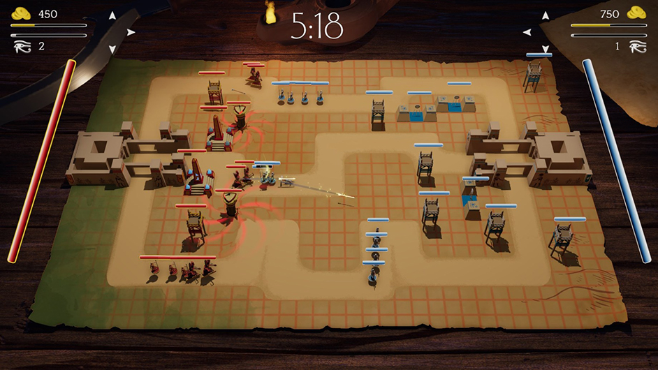 "Gameplay still of ""Sons of Ra."" Photo credit: Pharaoh Hound Games."