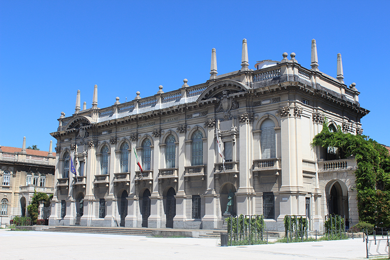 The Rectorate building of the Politechnico di Milano in Milan, Italy. Photo courtesy Giuliana Iannaccone.