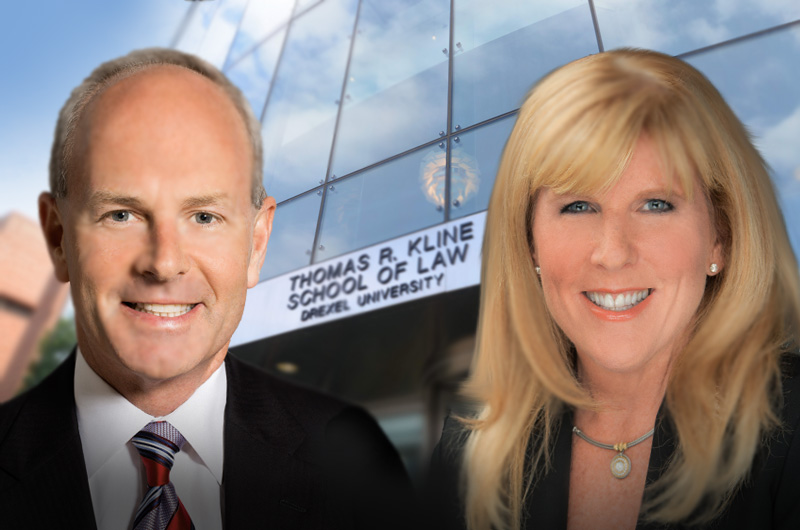 The Kline School of Law's Community Lawyering Clinic will now be known as the Andy and Gwen Stern Community Lawyering Clinic, thanks to the couple's $1.65 million naming gift.