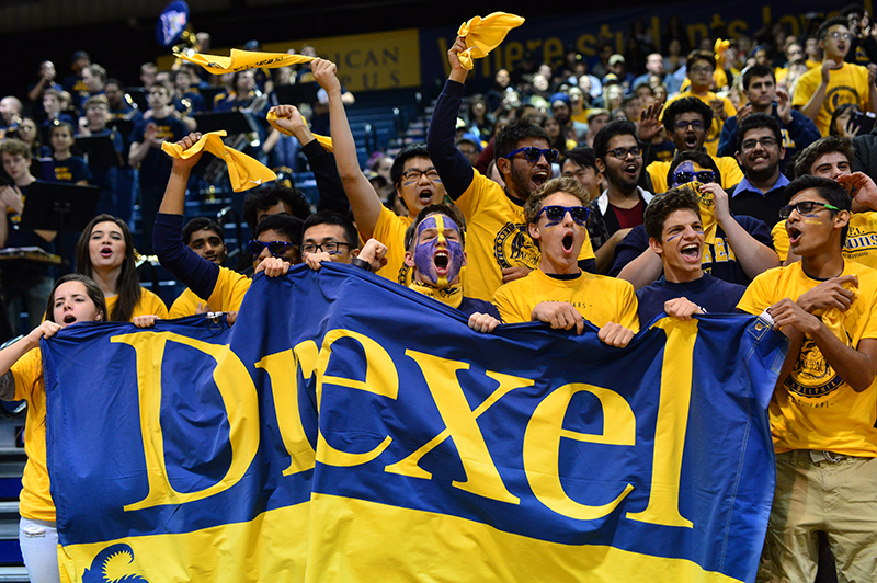 Drexel student section 2019