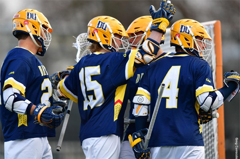 Players on the Drexel men's lacrosse team.