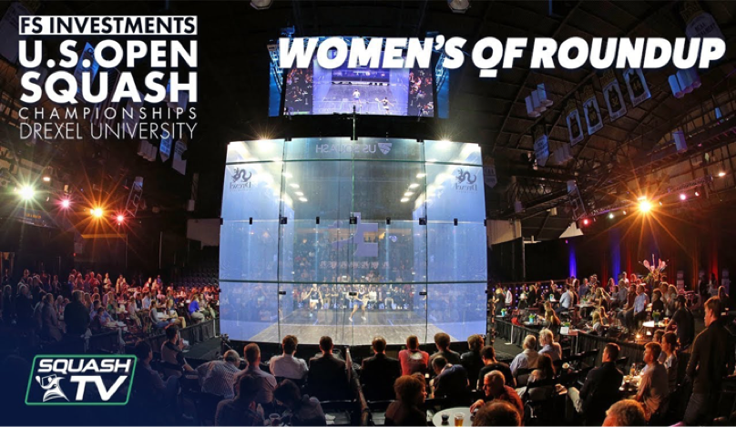 This year's U.S. Open Squash championships were held at the University.
