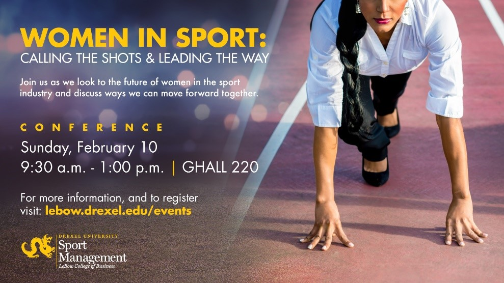 Women in Sports Conference Flyer