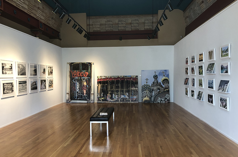 "The Paul Peck Center Gallery, which is currently showcasing ""John Chapel: A Photographic Voyage."""