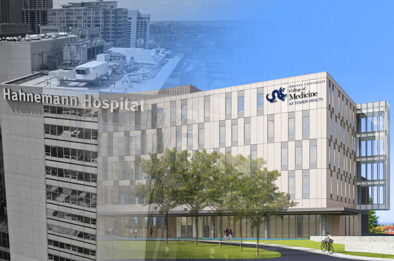 Earlier this year Drexel announced a 20-year academic affiliation with Tower Health, a six-hospital system with locations in the Philadelphia area, to educate Drexel medical students at a new regional location being built in Reading, Pennsylvania.