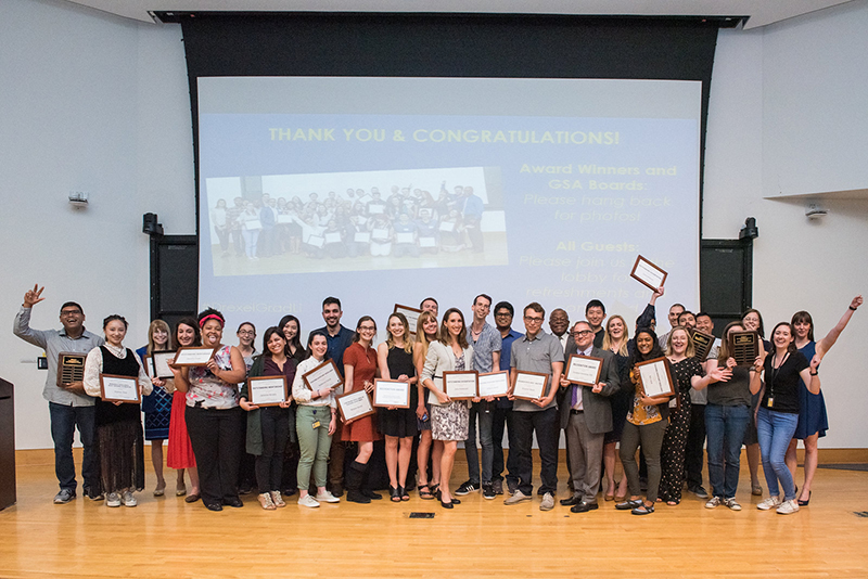 The winners of the Drexel University 2019 Graduate Student Day.