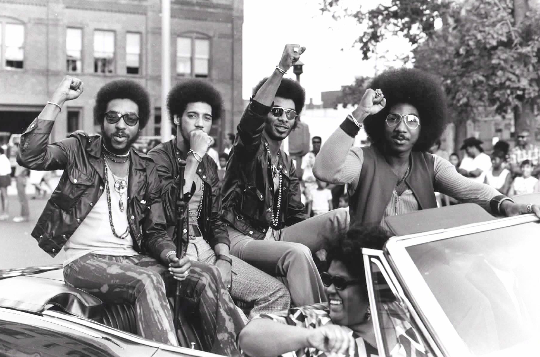 band members of Nat Turner Rebellion