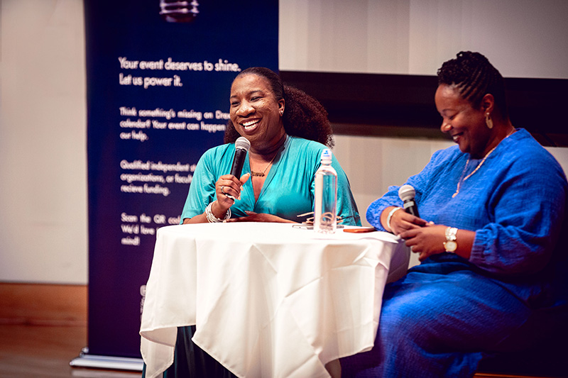 """An Evening with Tarana Burke"" brought together survivors and allies, as well as campus resources and organizations, in Mitchell Auditorium to get to know Burke as more than just a face of a movement."