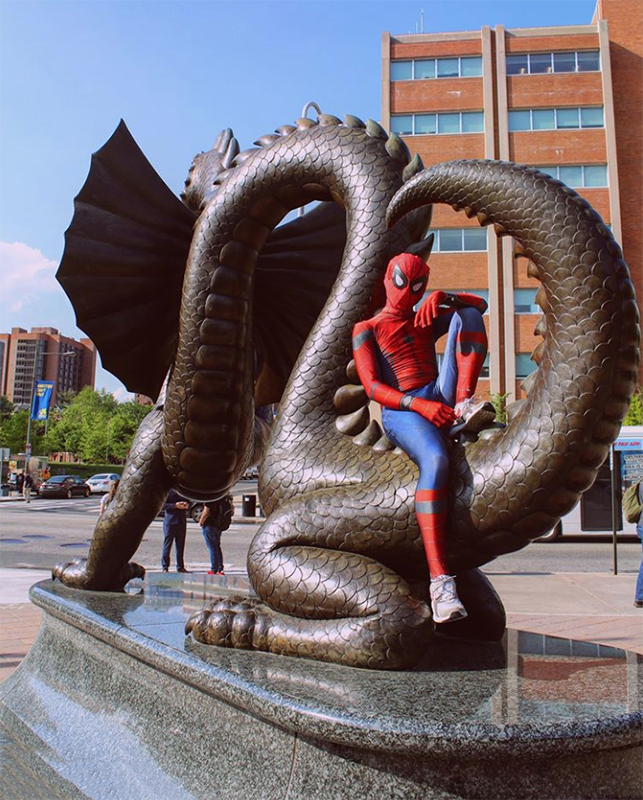 Drexel Spidey considered Drexel when he was applying to colleges because his mom is an alumna.