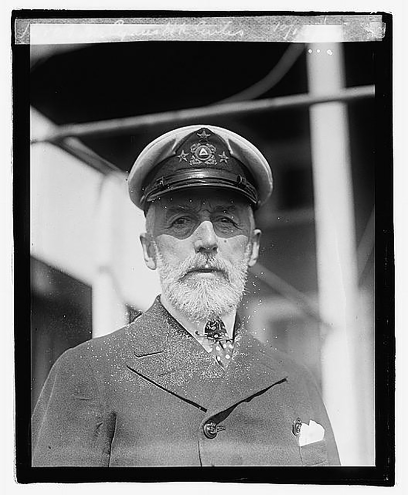 Cyrus H. K. Curtis in 1921, seven years before the Curtis Hall building was opened. Photo courtesy the Library of Congress.