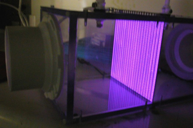 cold plasma air filter