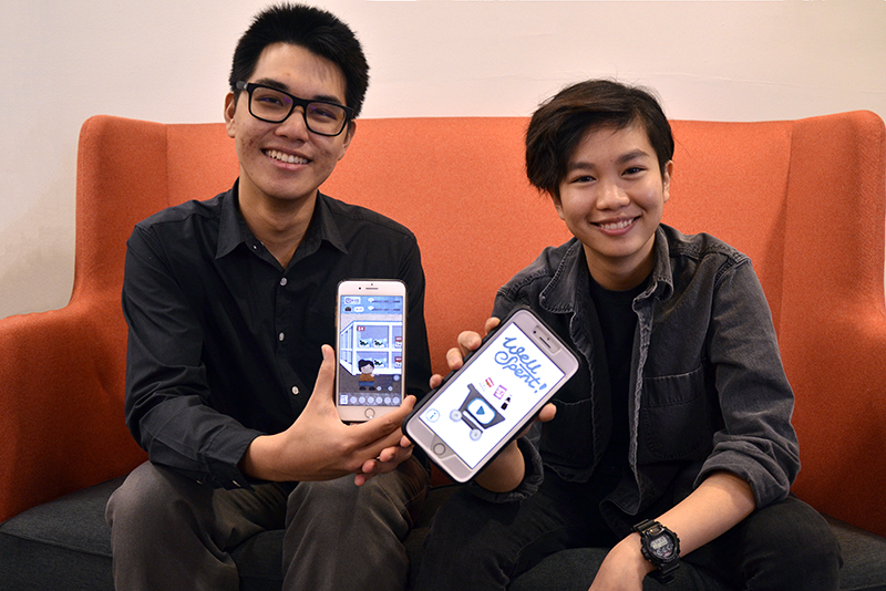 Second-year Drexel University students Tara Boonngamanong and Note Nuchprayoon came in first place in the second round of the U.S. Department of Health and Human Services' (HHS) game challenge for their aesthetically pleasing obesity prevention game.