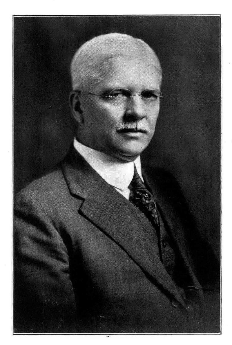 Kenneth G. Matheson in a 1921 photo. Photo courtesy University Archives.