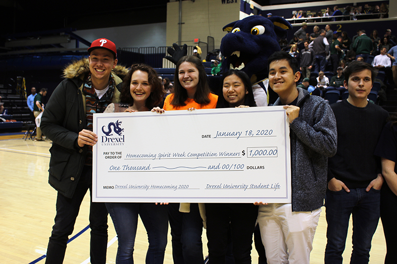 Campus Activities Board (CAB) clinched the first-place Spirit Week team title this year, as well as the $1,000 in Dragon Dollars and the bragging rights that come along with it.