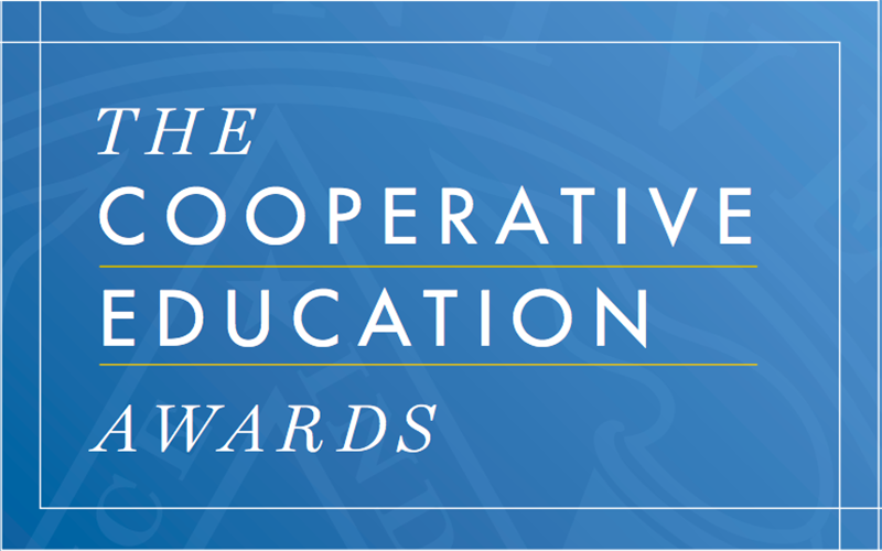 The Steinbright Career Development Center announced the winners of their annual Cooperative Education Awards despite the fact that COVID-19 halted plans for an awards ceremony.